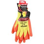Dekton Orange/cream Working Glove Latex 9/l (DT70718C)