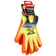 Dekton Orange/cream Working Glove Latex 10/xl (DT70719C)