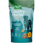 Natures Menu Country Hunter Superfood Dog Biscuits Duck 1.2kg (CHBISD)