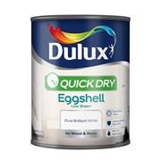 dulux Quick Dry Eggshell Pbw 750ml (5210875)