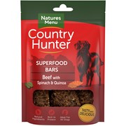 Natures Menu Superfood Bar Beef With Spinach & Quinoa 100g (CHTBS)