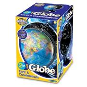 Brainstorm 2 in 1 Earth & Constellations Globe (E2001)