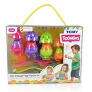 Toomies Tommies Hide & Squeak Egg & Spoon Set (E73082)