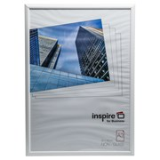 Easy Loader Solid White Plastic  Plexi Glass Frame A3 (EASA3WHP)