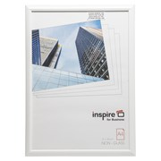 Easy Loader Solid White Plastic  Plexi Glass Frame A4 (EASA4WHP)