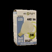 Ecolight 5w Led B15 Golf Light Bulb Frosted (EC79144)