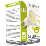 Ecolight 5w Led E27 3000k Jdr Light Bulb (EC67707)