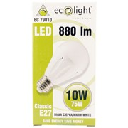 Ecolight 10w Led E27 Gls 3000k Dimmable Light Bulb (EC79010)