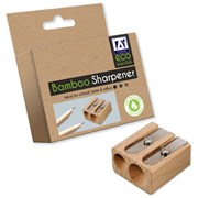 Eco Essentials Bamboo Two Hole Sharpener (ECSH)
