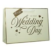 Wedding Day Shopper Gift Bag X/lge (ED-265-XLS)