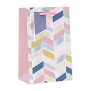 Pink Geometric Gift Bag Small (ED-324-S)
