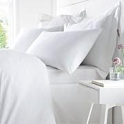 Egyptian Cotton Duvet Set White Single (BD/54043/R/SQS/WH)