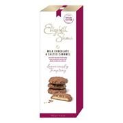 Elizabeth Shaw Milk Choc & Salted Caramel Biscuits 140g (G1022)