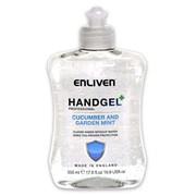 Enliven Hand Sanitizer Original Cucumber & Mint 500ml