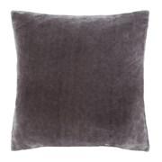 Catherine Lansfield Plain Raschel Cushion Charcoal