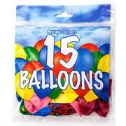 Fantasia Balloons Asst Colours 15s (PAK15)