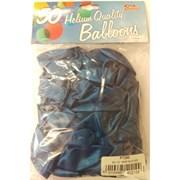 """Fantasia Shiny Blue Balloons 50s 12"""" (PT260)"""