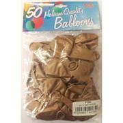 """Fantasia Shiny Gold Balloons 50s 12"""" (PT262)"""