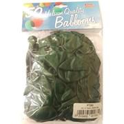 """Fantasia Shiny Green Balloons 50s 12"""" (PT263)"""