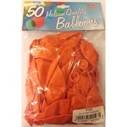 "Fantasia Shiny Orange Balloons 50s 12"" (PT287)"