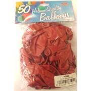 """Fantasia Shiny Red Balloons 50s 12"""" (PT268)"""