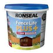 Ronseal Fence Life Plus + Dark Oak 5lt (37623)