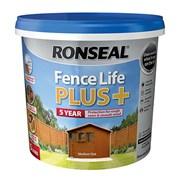 Ronseal Fence Life Plus + Medium Oak 5lt