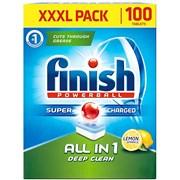 Finish All In 1 Deep Clean Lemon 100s (HOFIN234)