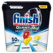 Finish Dishwasher Tabs Quantum Ultimate Lemon 50s (HOFIN253)