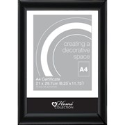 Flat Black Photo Frame A4 (BLDM/2)