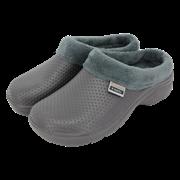 T&c Fleecy Cloggies Charcoal Size11 (P-TFW6627)