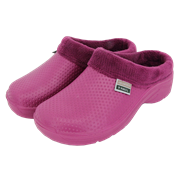 Fleecy Cloggies Raspberry Size 4 (P-TFW6630)