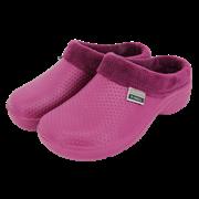 Fleecy Cloggies Raspberry Size 6 (P-TFW6632)