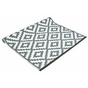 Grey And White Outdoor Rug 120x180c (FN197761GY)