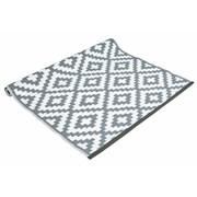 Grey And White Outdoor Rug 150x240c (FN197762GY)