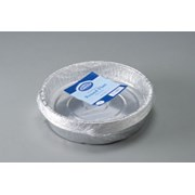 Foil Round Flan Dishes 9s 16.5cm (FDLGS)