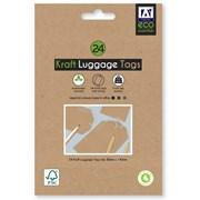 Eco Essentials Kraft Luggage Tags (FSC3-ECLT)