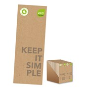 Eco Notepad Shopping List (FSC3-ECSHP)