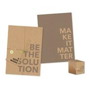 Eco Pk Of 2 Softcover Notebooks A5 (FSC3-ECTNB)