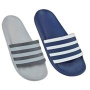 Mens Two Stripe Pool Slide (FT1511)