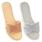 Ks Ladies Mock Cross Strap Sandal (FT1692)