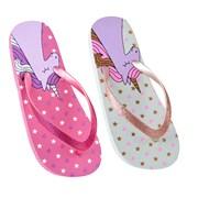 Ks Girls Unicorn Flip Flop (FT1708)