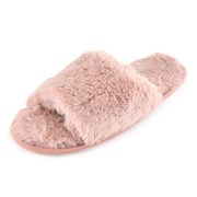 Ks Ladies Plush Sliders Pink (FT1744PK)
