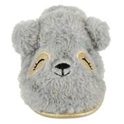 Ks Ladies Bear Mules Grey (FT2026GY)