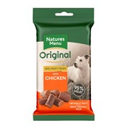 Natures Menu Real Meat Chicken Mini Treats For Dogs 60g (NMCKT)