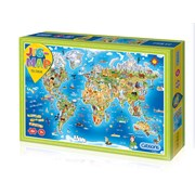 Gibsons Jigmap Our World Puzzle 250pc (G1050)