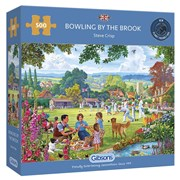 Gibsons Bowling By The Brook Puzzle 500pc (G3125)