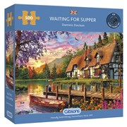 Gibsons Waiting For Supper Puzzle 500pc (G3128)