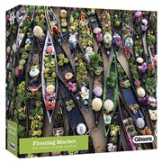 Gibsons Floating Market Puzzle 500pc (G3601)