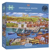 Gibsons Endeavour Whitby Puzzle 1000pc (G6286)